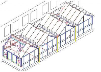 01_Dombauhuette_CAD_Konstruktion